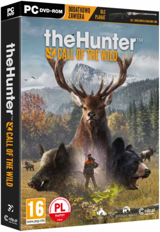 Cdp The Hunter: Call Of The Wild Gra PC