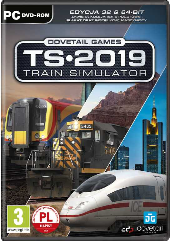 Cdp.pl Train Simulator 2019 Gra PC