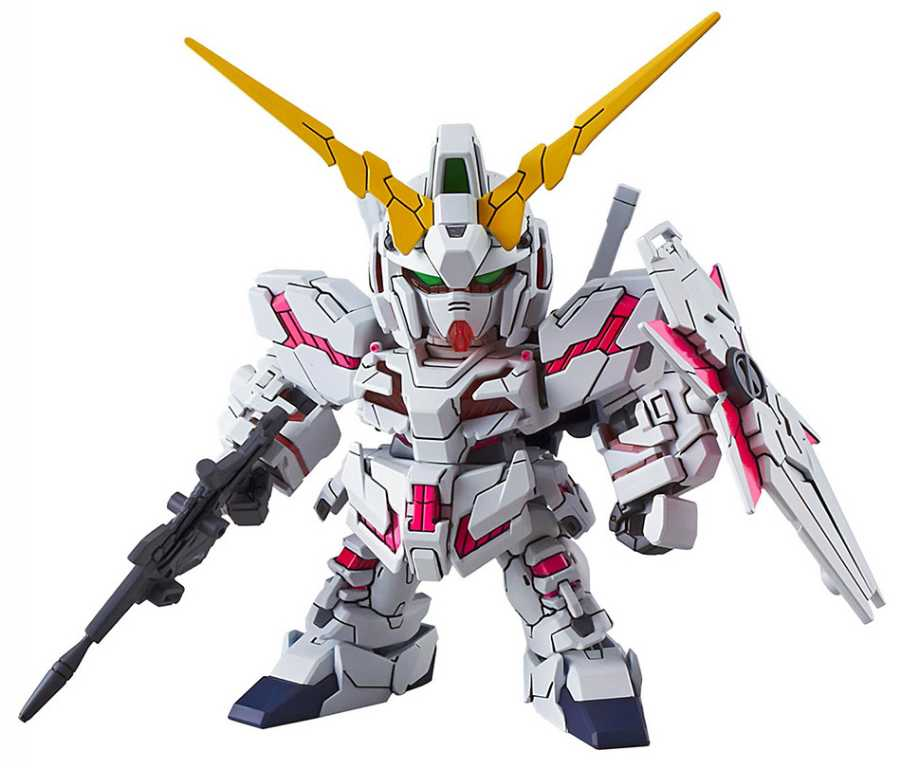 Bandai SD EX STD 005 Unicorn Gundam Destroy Mode