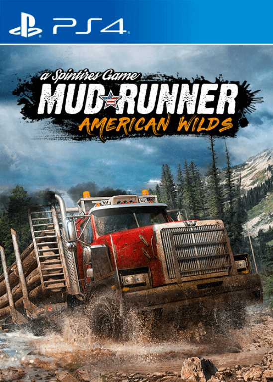 Cdp.pl Spintires: MudRunner American Wilds Edition Gra PS4