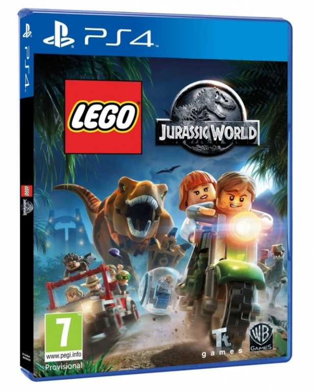 Cenega JURASSIC WORLD Gra PS4