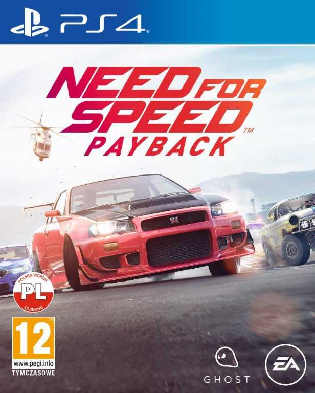 Electronic arts Need for Speed Payback Gra PS4