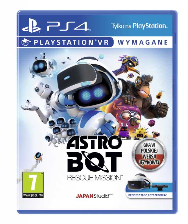 Sony computer Astro Bot: Rescue Mission Gra PS4