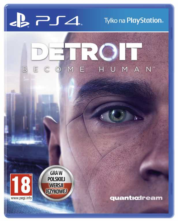 Sony computer Detroit: Become Human Gra PS4