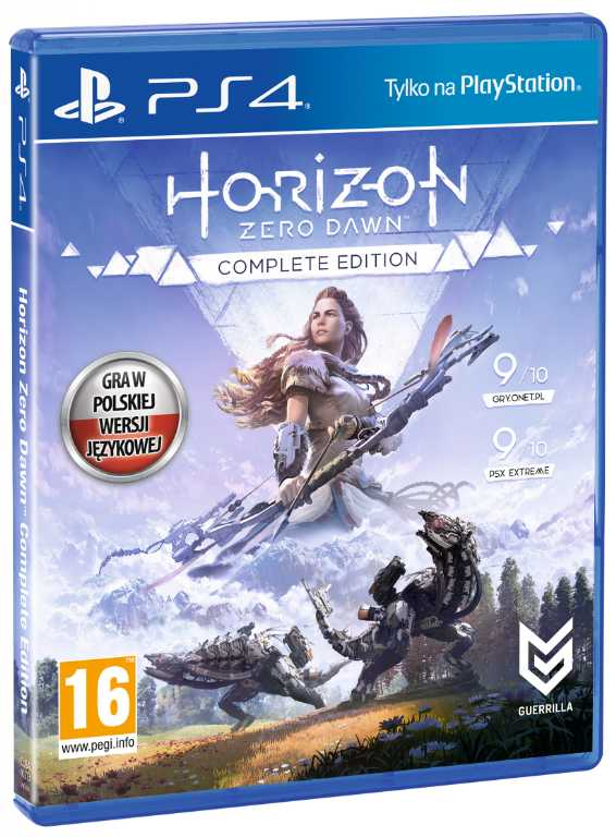 Sony computer Horizon Zero Dawn Complete Edition Gra PS4