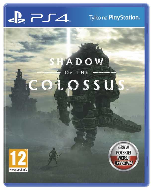 Sony computer Shadow Of The Colossus Gra PS4