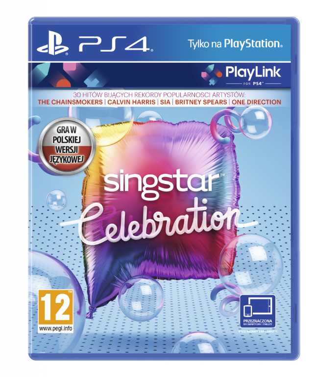 Sony computer Singstar Celebration Gra PS4