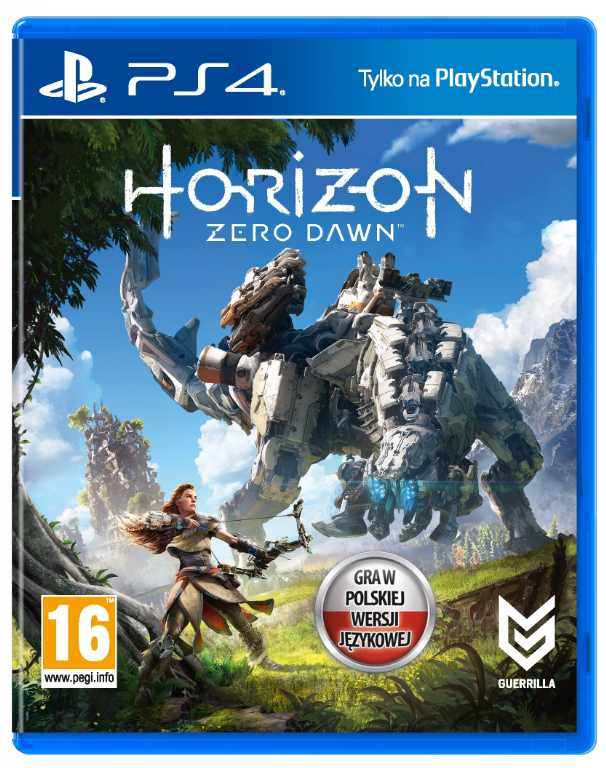 Sony Horizon Zero Dawn Gra PS4
