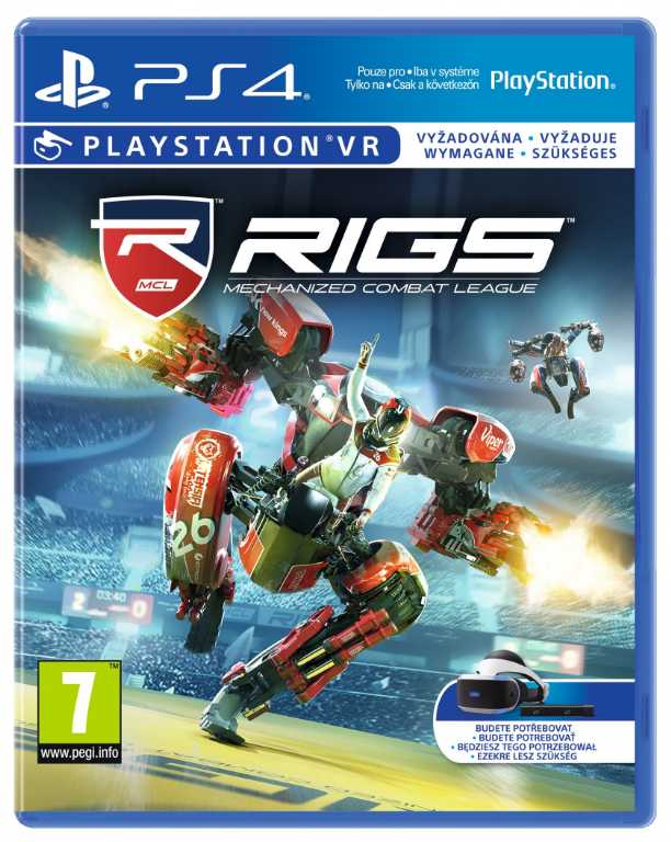 Sony Rigs Mechanized Combat League Gra PS4