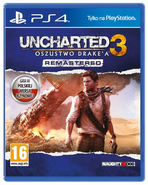 Sony Uncharted 3: Oszustwo Drake'a Gra PS4