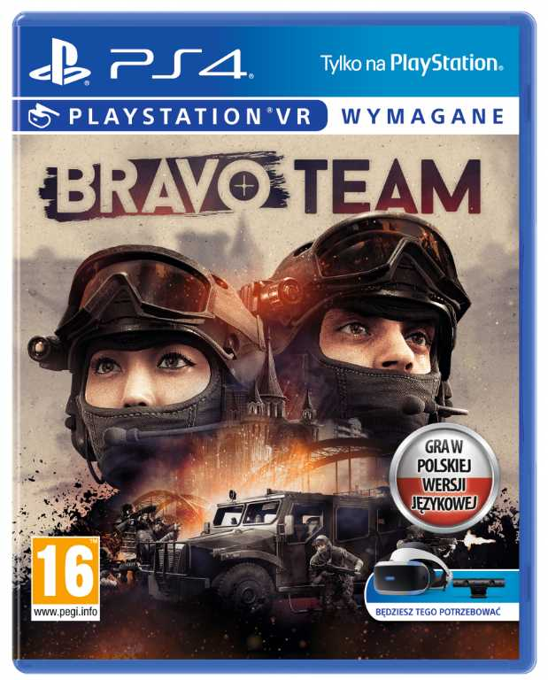 Sony VR Bravo Team Gra PS4