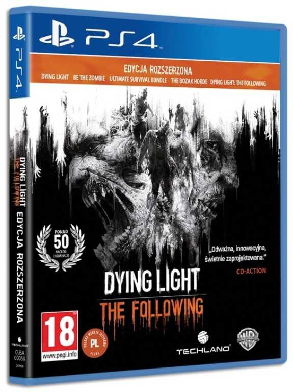 Techland DYING LIGHT: THE FOLLOWING ENHANCED EDITION Gra PS4