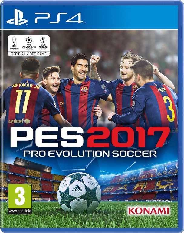 Techland Pro Evolution Soccer 2017 Gra PS4