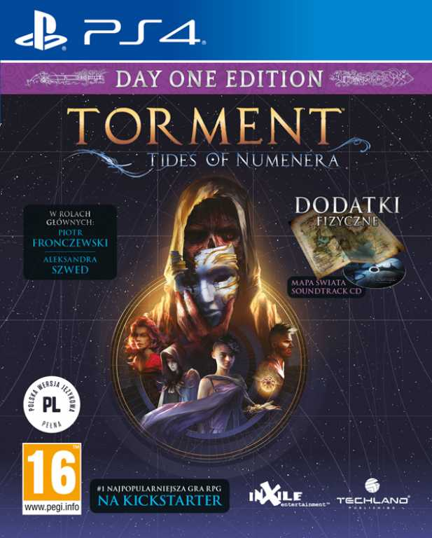 Techland Torment: Tides of Numenera Edycja Day One Gra PS4