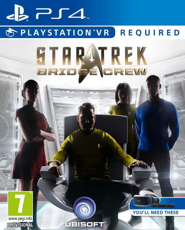 Ubisoft Star Trek Bridge Crew Gra PS4