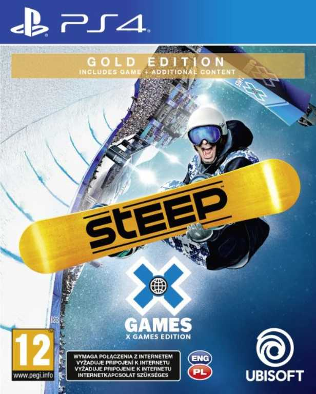 Ubisoft Steep X Games (Gold Edition) Gra PS4