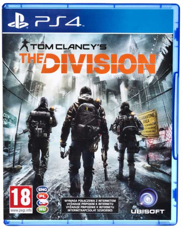 Ubisoft THE DIVISION Gra PS4