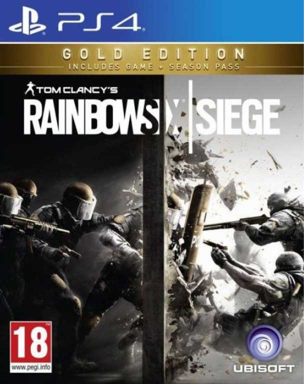 Ubisoft Tom Clancy's Rainbow Six Siege Gold Edition Gra PS4