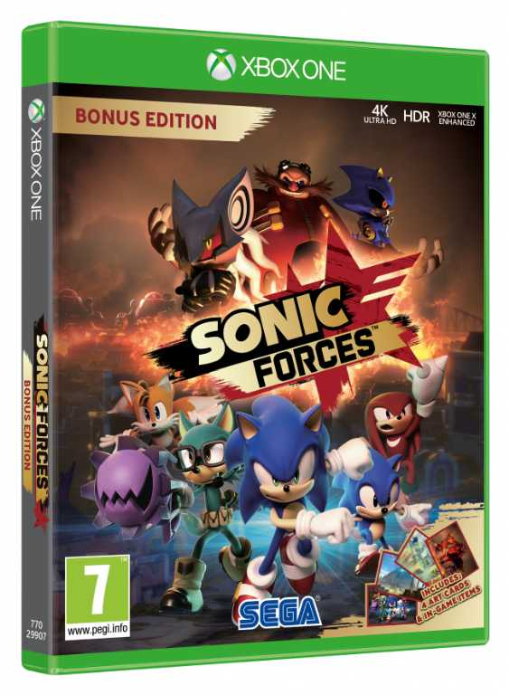 Cenega Sonic Forces Gra Xbox One