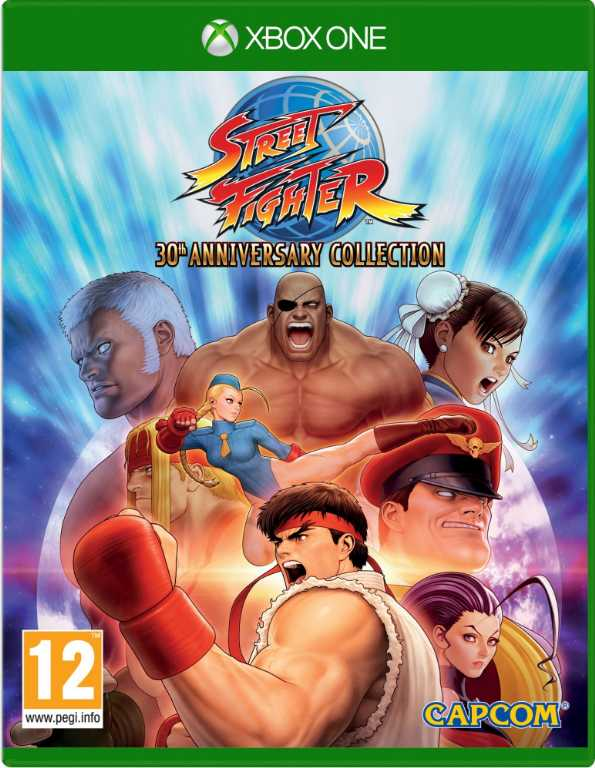 Cenega Street Fighter 30th Anniversary Collection Gra Xbox One