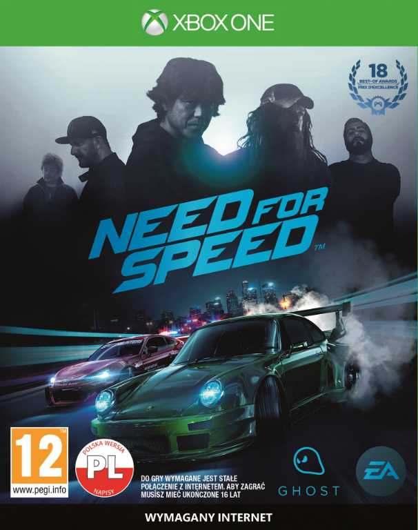 Ea NEED FOR SPEED 2015 Gra Xbox One