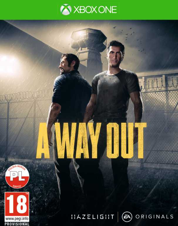 Electronic arts A Way Out Gra Xbox One