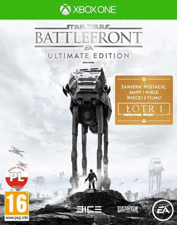 Electronic arts Star Wars Battlefront: Ultimate Edition Gra Xbox One