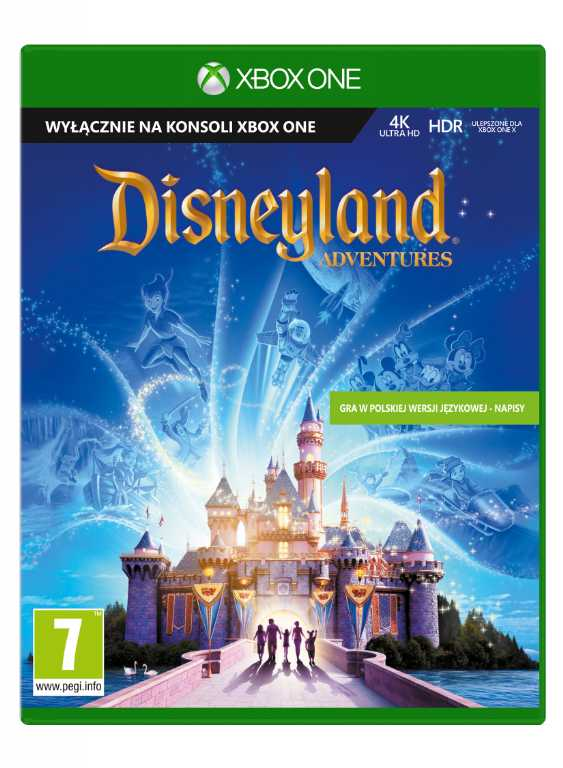 Microsoft Disneyland Adventures Gra Xbox One