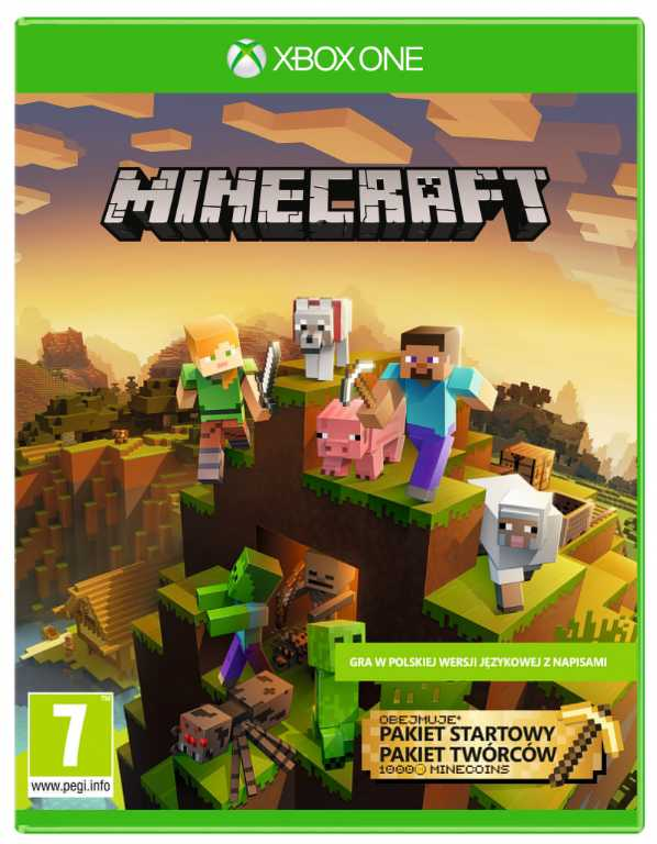 Microsoft Minecraft Master Collection Gra Xbox One
