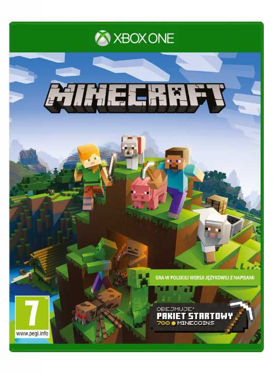 Microsoft Minecraft Starter Collection Gra Xbox One