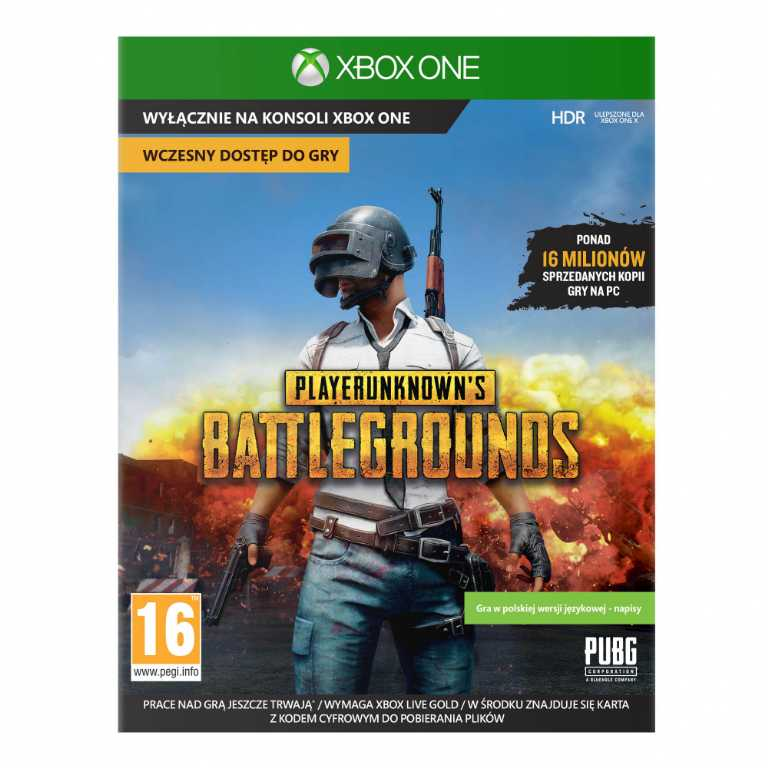 Microsoft PlayerUnknown's Battlegrounds Gra Xbox One