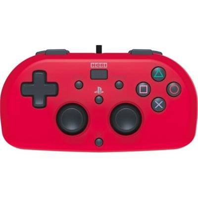 Kontroler HORI Mini Gamepad Czerwony do PS4
