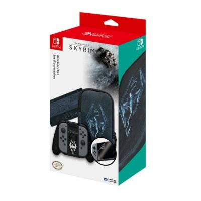 Zestaw akcesoriów HORI Skyrim Accessory Set do Nintendo Switch