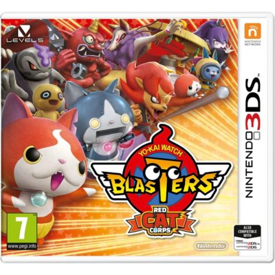 Gra 3DS Yo-kai Watch: Blasters Red Cat