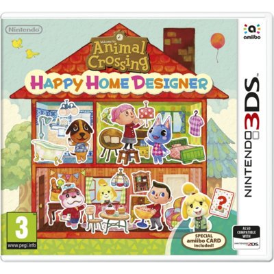 Gra 3DS Animal Crossing: Happy Home Designer + Karta amiibo