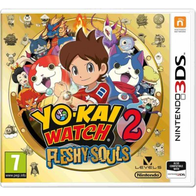 Gra Nintendo 3DS YO-KAI WATCH 2: Fleshy Souls