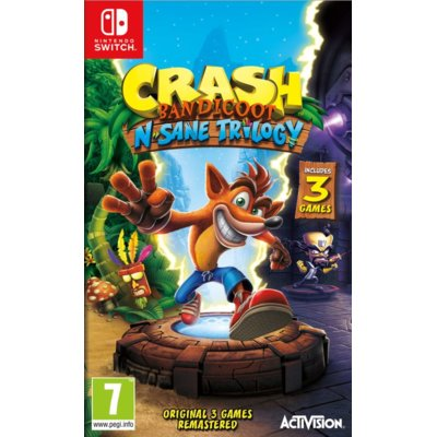 Gra Nintendo Switch Crash Bandicoot N. Sane Trilogy