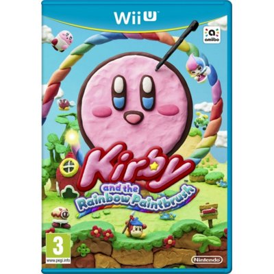 Gra Wii U Kirby and Rainbow Paintbrush