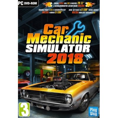 Gra Car Mechanic Simulator 2018