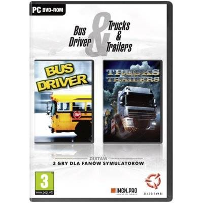 Gra PC Bus Driver & Trucks and Trailers