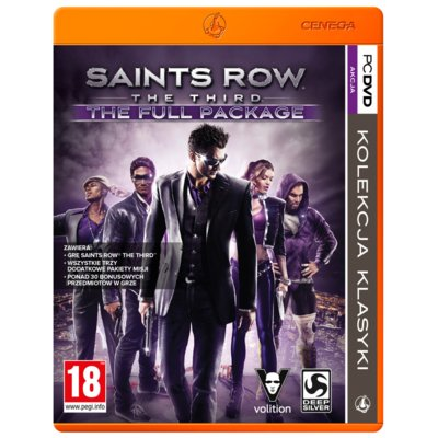 Gra PC PKK Saints Row The Third: The Full Package