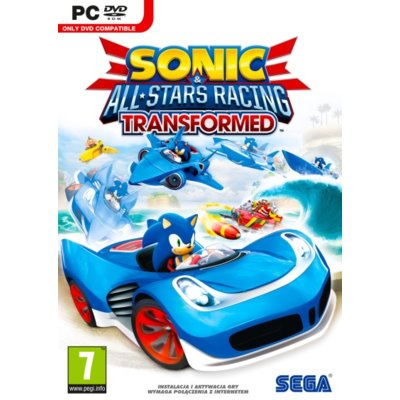 Gra PC Sonic & All-Stars Racing Transformed