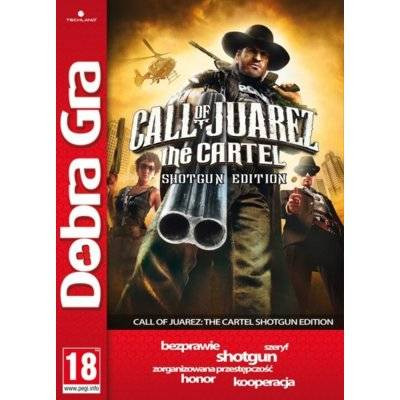 Gra PC TECHLAND Call of Juarez the Cartel Shotgun Edition (DG)