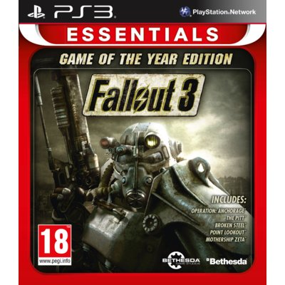 Gra PS3 Fallout 3 Game Of The Year Edition Essentials