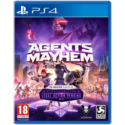 Gra PS4 Agents of Mayhem