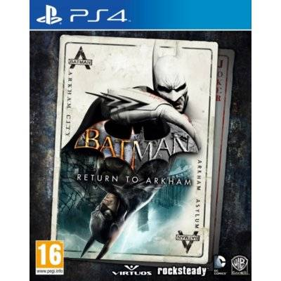 Gra PS4 Batman: Return to Arkham
