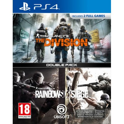 Gra PS4 Double Pack: Tom Clancy's The Division + Tom Clancy's Rainbow Six: Siege