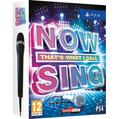 Gra PS4 Now Sing (2 mikrofony)