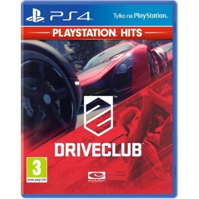 Gra PS4 PlayStation HITS DriveClub