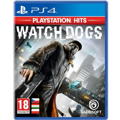 Gra PS4 PlayStation HITS Watch Dogs